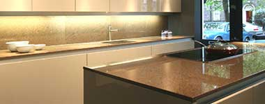 Benchtops, splashbacks & pavers