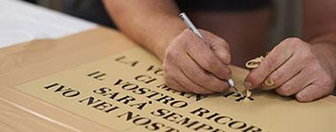 Inscriptions & lettering